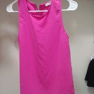 Forever 21 Dressy Pink Shirt